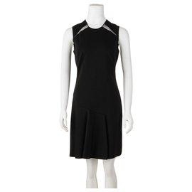 Stella Mc Cartney-Black A-Line Dress-Black
