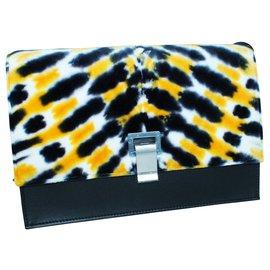 Proenza Schouler-Velvet Tie-Dye Bag-Multiple colors
