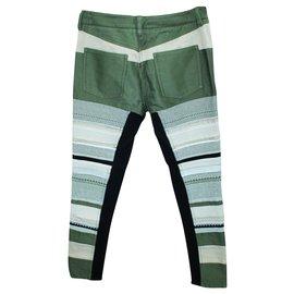 3.1 Phillip Lim-Khaki Print Cotton Pants-Multiple colors