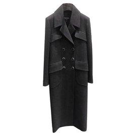 Chanel-7K$ Bella Hadid Coat-Black