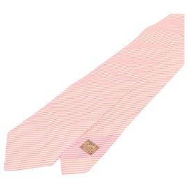 Hermès-Hermès Tie-Pink