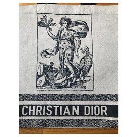 Dior-Handbags-Black,Cream