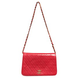 Chanel-Chanel Timeless bag-Red
