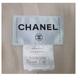 Chanel-Chanel Pink 13C Cruise 2013 Boucle Fringe Military Style Pea Jacket Coat-Pink