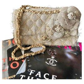 Chanel-Classic medium-Beige