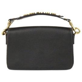 Dior-Dior Black JAdior Leather Handbag-Black