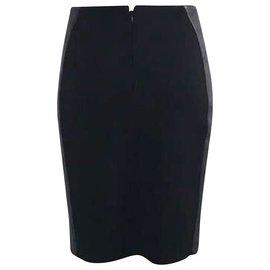 Givenchy-Black Bandage Skirt-Black