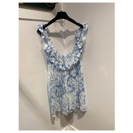 Chanel-Dresses-White,Blue
