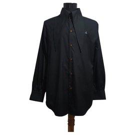 Vivienne Westwood-Shirts-Black