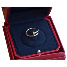 Cartier-Cartier Juste un Clou ring in pink gold-Golden