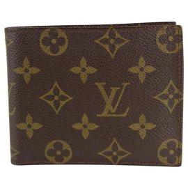 Louis Vuitton-Monogram Multiple Slender Marco Florin Men's Bifold Wallet 17lvs1211-Other