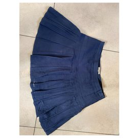 Burberry-Skirts-Dark blue