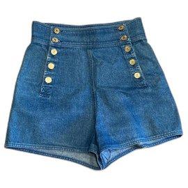 Chanel-Shorts-Blue