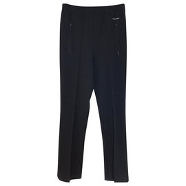 Balenciaga-Black Archetype Straight Pants-Black