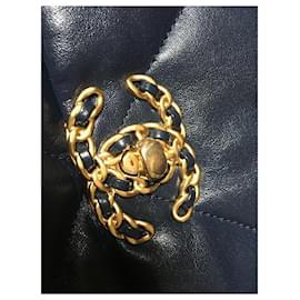 Chanel-Chanel 19 Sac, Couleur rare et épuisée: Marine-Bleu Marine