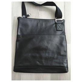 Salvatore Ferragamo-Bags Briefcases-Black