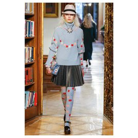 Chanel-SALZBURG Scarf and Sweater-Multiple colors