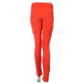 Mother-Jeans-Orange