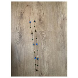 Chanel-Necklaces-Dark blue