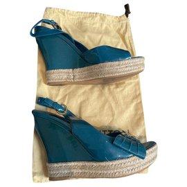 Louis Vuitton-Sandals-Navy blue