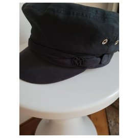 Maison Michel-Maison Michel cap-Black