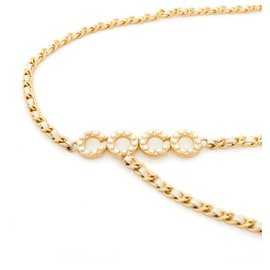 Chanel-COCO T80/85 PEARLS CHAINS-Golden