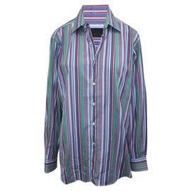 Etro-Multicolor Striped Shirt-Multiple colors