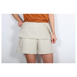 Givenchy-Givenchy shorts.-Cream