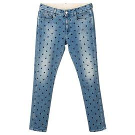 Stella Mc Cartney-Mid-Rise Skinny Leg Star Jeans-Multiple colors