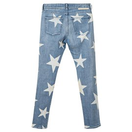 Stella Mc Cartney-Embroidered Mid-Rise Jeans-Multiple colors