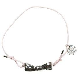 Dior-Bracelet à breloques logo rose Dior-Rose,Autre