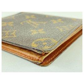 Louis Vuitton-Monogram Multiple Slender Marco Florin Men's Bifold Wallet-Other