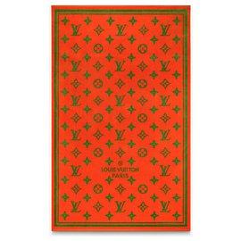 Louis Vuitton-Serviette de plage LV neuve-Orange