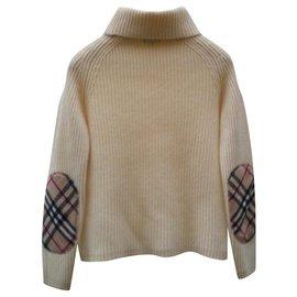 Burberry-Knitwear-Eggshell