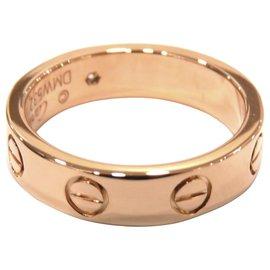 Cartier-Cartier Pink 18K Love Ring-Pink