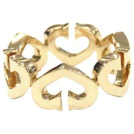 Cartier-Cartier Gold 18K Heart Ring-Golden