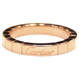 Cartier-Cartier Pink 18K Lanieres Ring-Pink