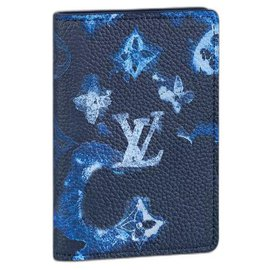 Louis Vuitton-LV Pocket organizer blue ink-Blue