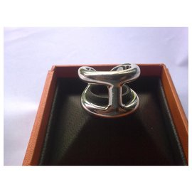 Hermès-Osmosis ring-Silvery