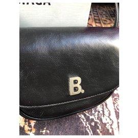Balenciaga-b. Mini bag-Black