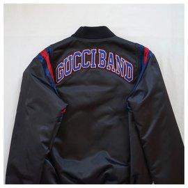 Gucci-Men Coats Outerwear-Black