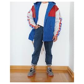 Gucci-Men Coats Outerwear-Red,Blue