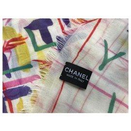Chanel-Chanel stole-Multiple colors