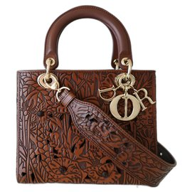 Dior-Lady Dior bag 2021-Brown