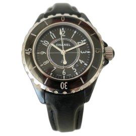 Chanel-Chanel J watch12 33MM-Black
