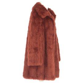 Balmain-Coat-Brown