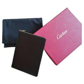 Cartier-Porte passeport Cartier CRM00491-Noir