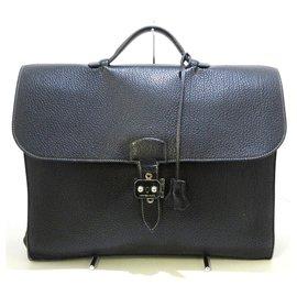 Hermès-Hermès Briefcase-Black