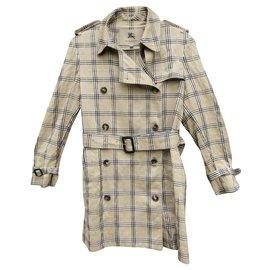 Burberry-Burberry women's summer trench coat 40-Beige