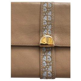 Dior-Purses, wallets, cases-Beige